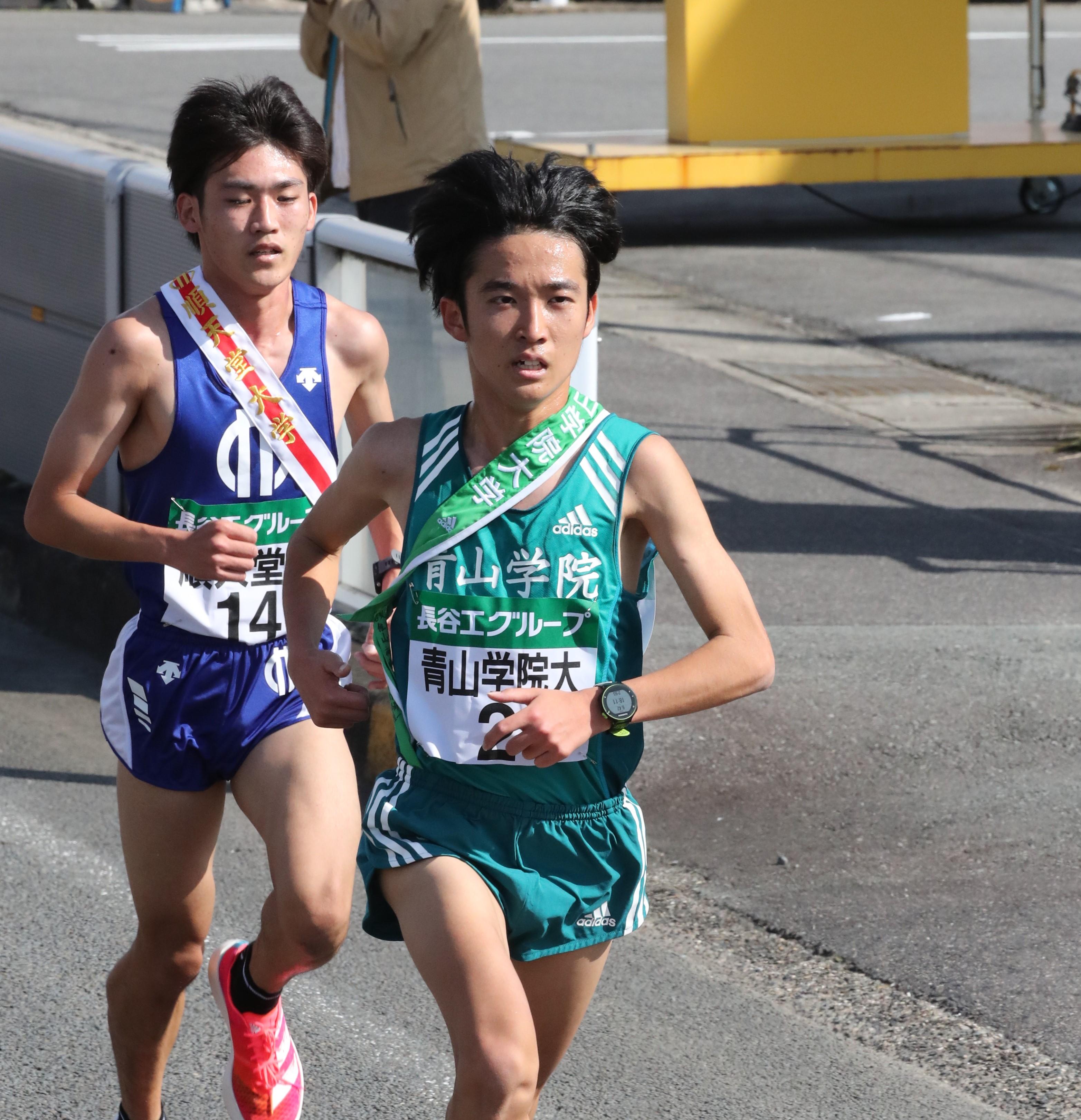 箱根駅伝では、チームの中心としての役割が期待されている