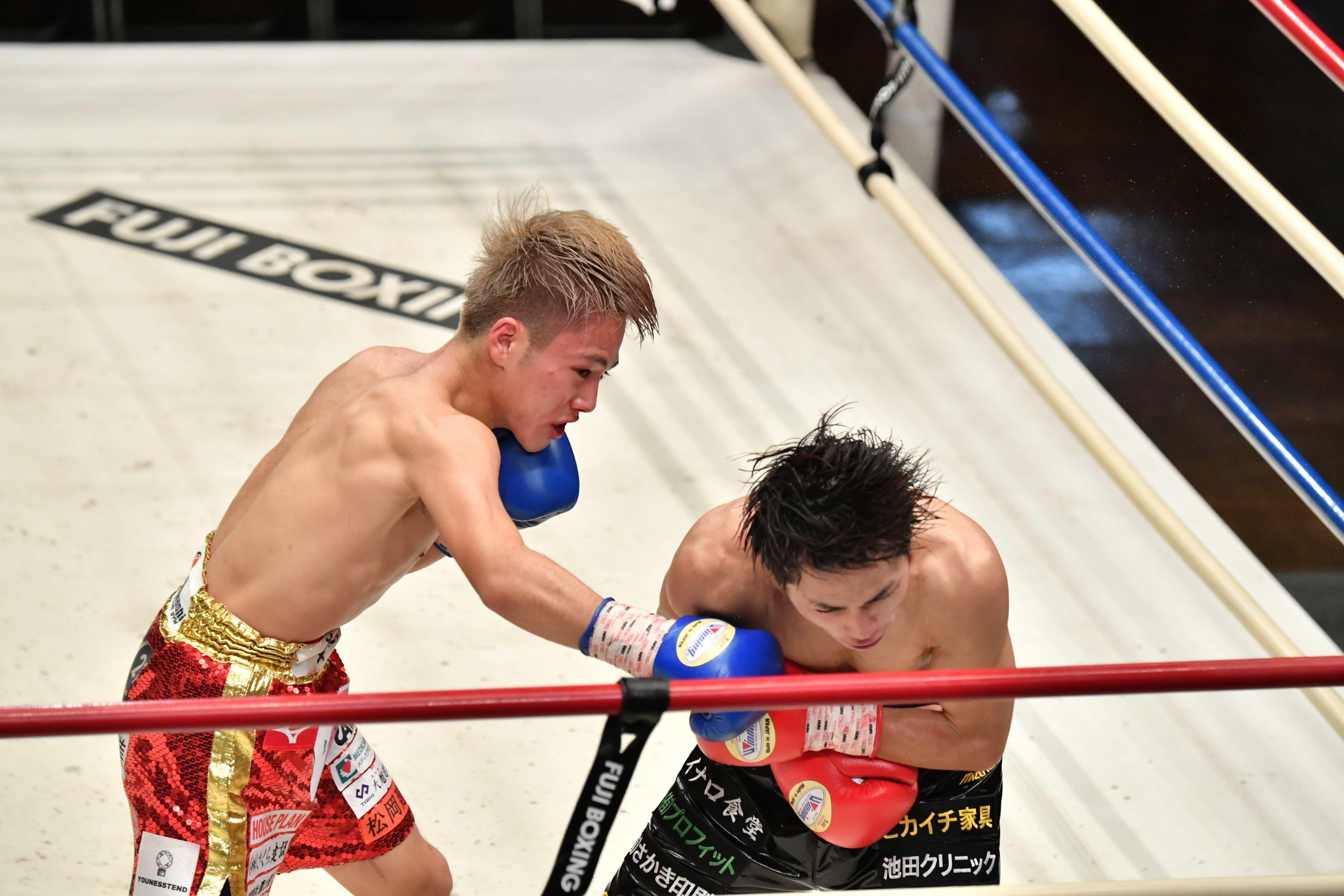 ボクシング】新人王対決は、竹田の巧さに苦しむも森が制す。 | BBM ...