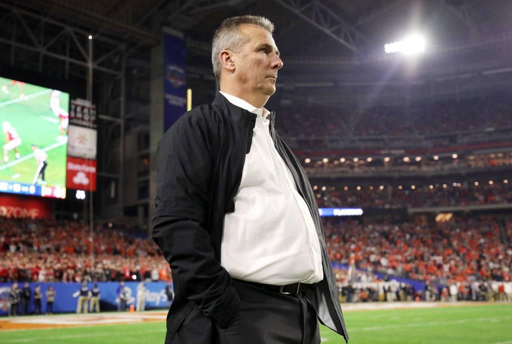 NFLジャガーズのHCに就任したアーバン・マイヤー。1月11日の全米王座決定戦ではFOXテレビのアナライザーとしてゲームを観戦した=photo by Getty Images