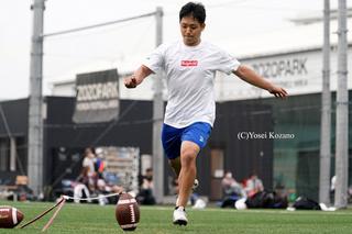 【アメフト】初の日本人NFL選手を目指す K佐藤敏基(1) 甲子園ボウルで味わった挫折