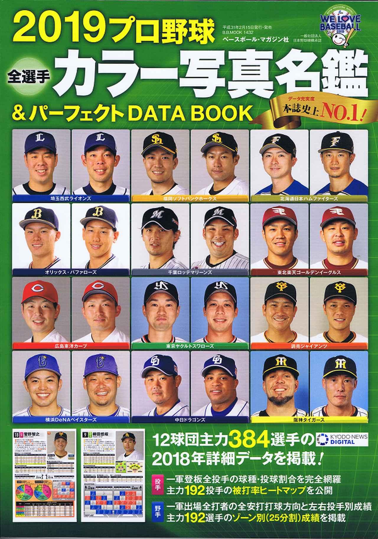 2020 選手 名鑑 プロ 野球