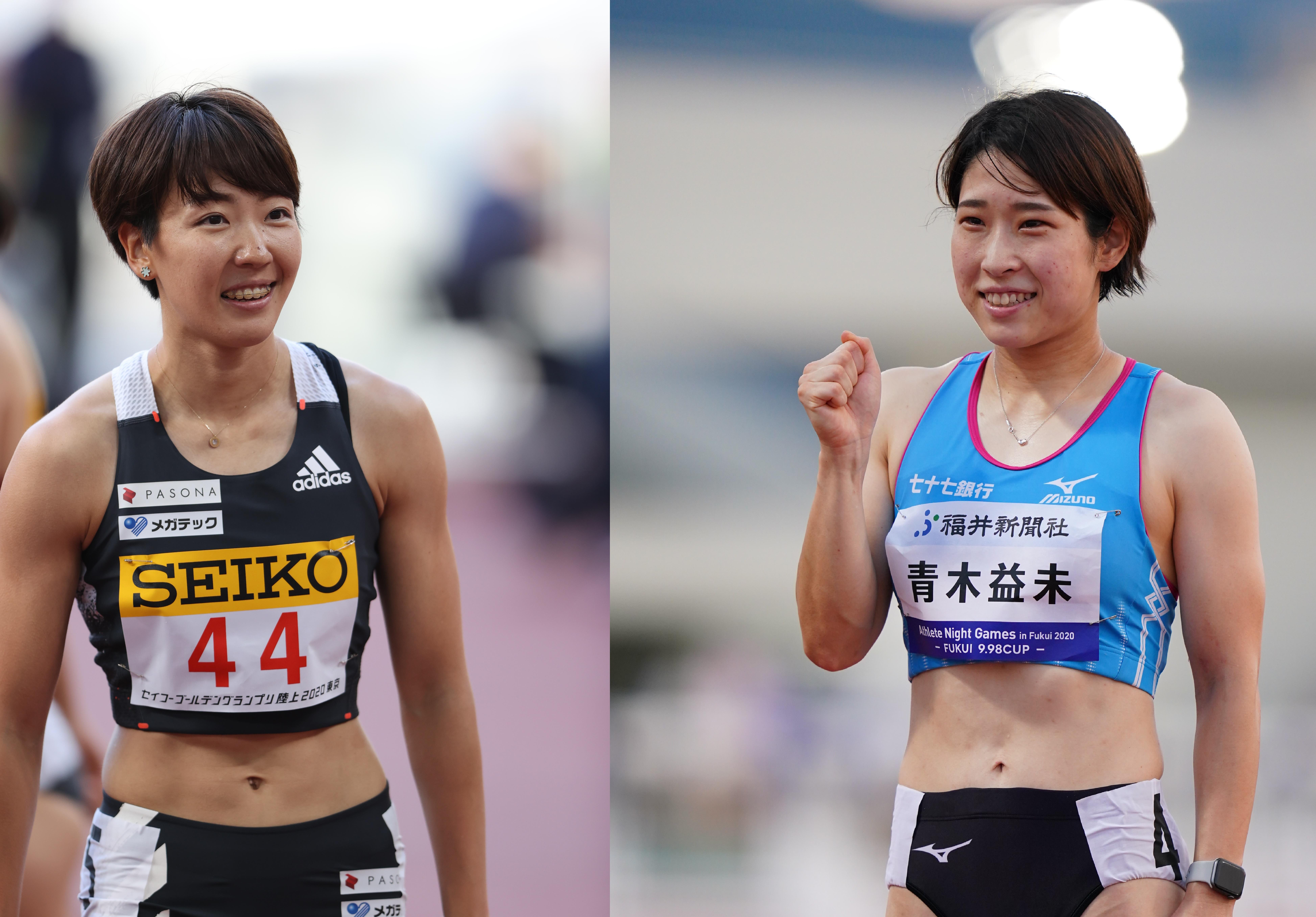 陸上】日本選手権展望・女子100mハードル/寺田、青木の日本新レベル ...