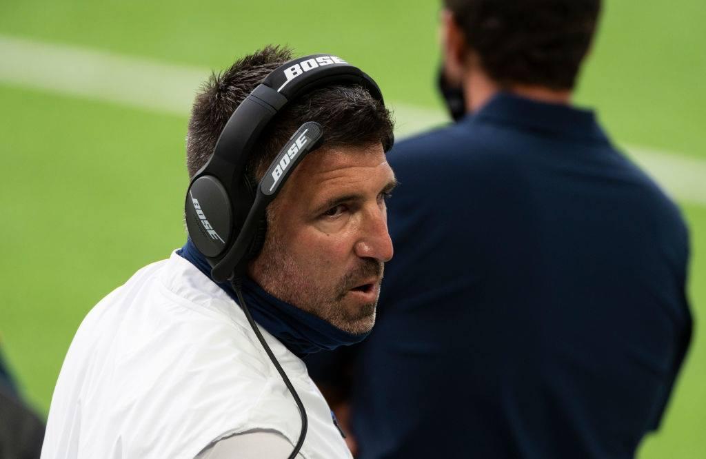 タイタンズのマイク・ブレイブルヘッドコーチ=photo by Getty Images