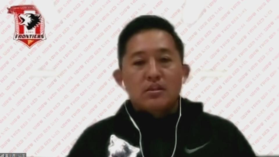 5連覇を目指す王者・富士通フロンティアーズの山本洋HC